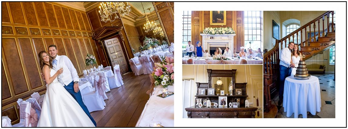 Wedding Breakfast Room Gosfild Hall