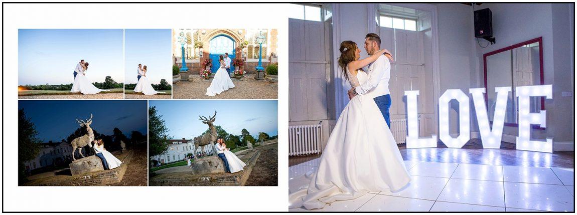 Gosfield Hall Wedding Album Photos