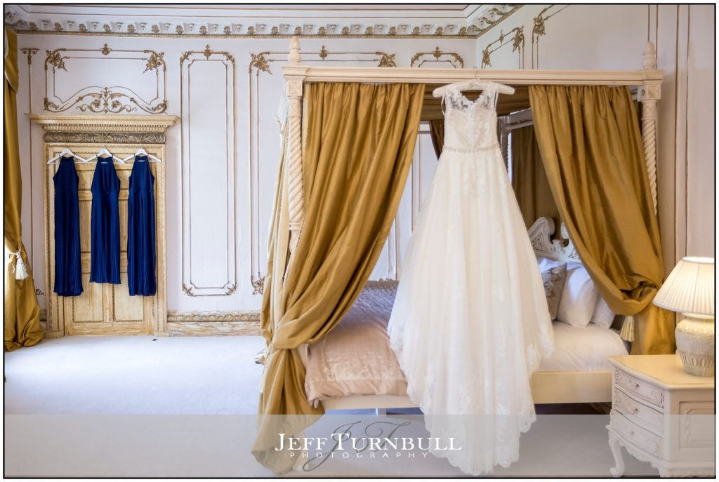 Wedding Dress in Bridal Suite