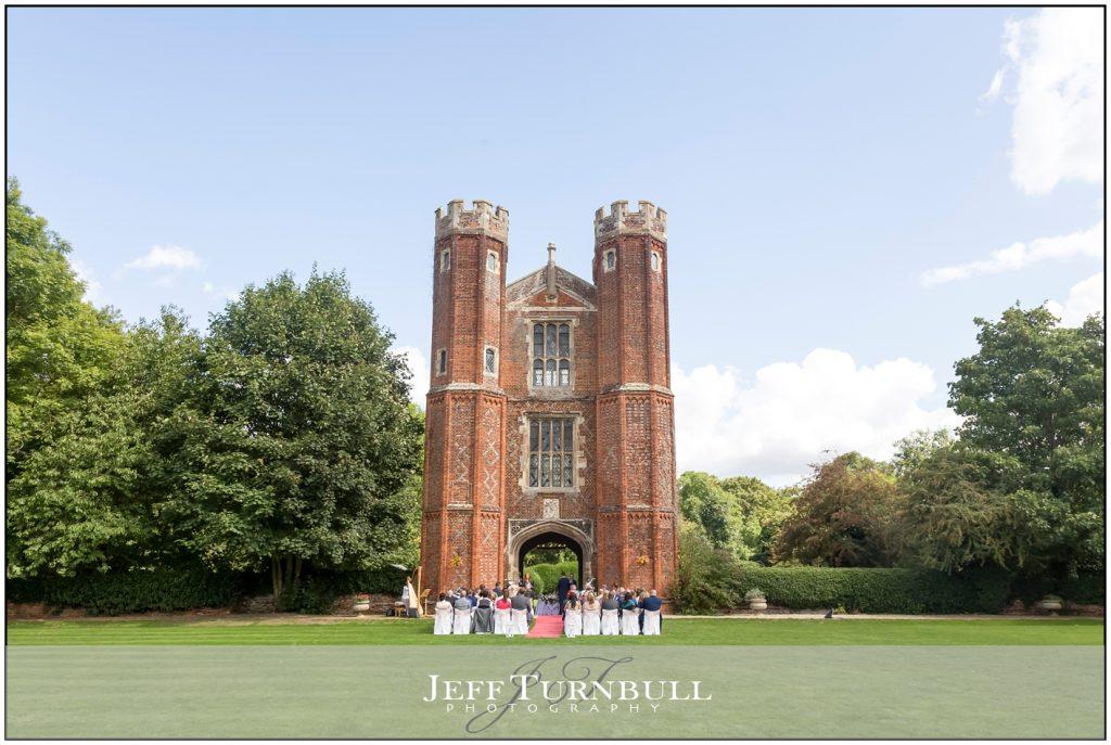 Leez Priory Outdoor Ceremony