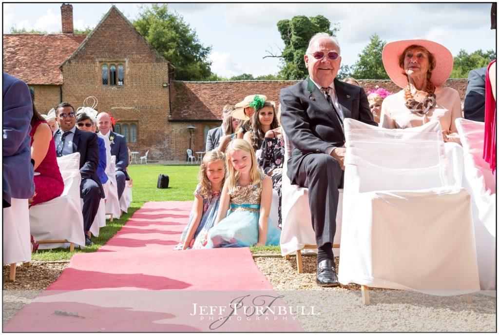 Leez Priory Wedding Ceremony