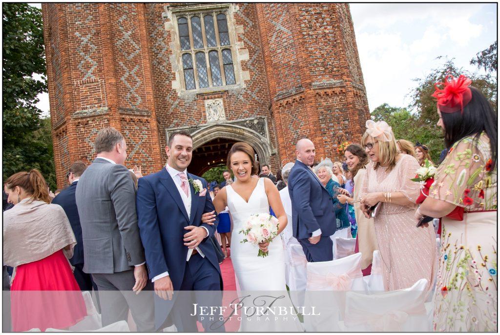 Leez Priory Outdoor Wedding