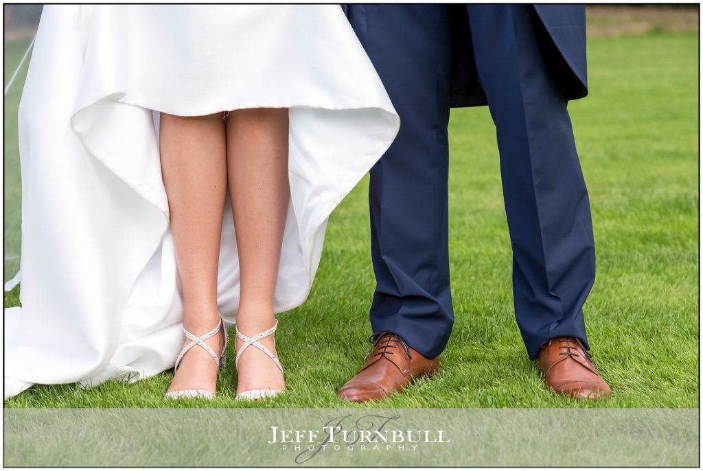 Bride and Groom Sexy legs