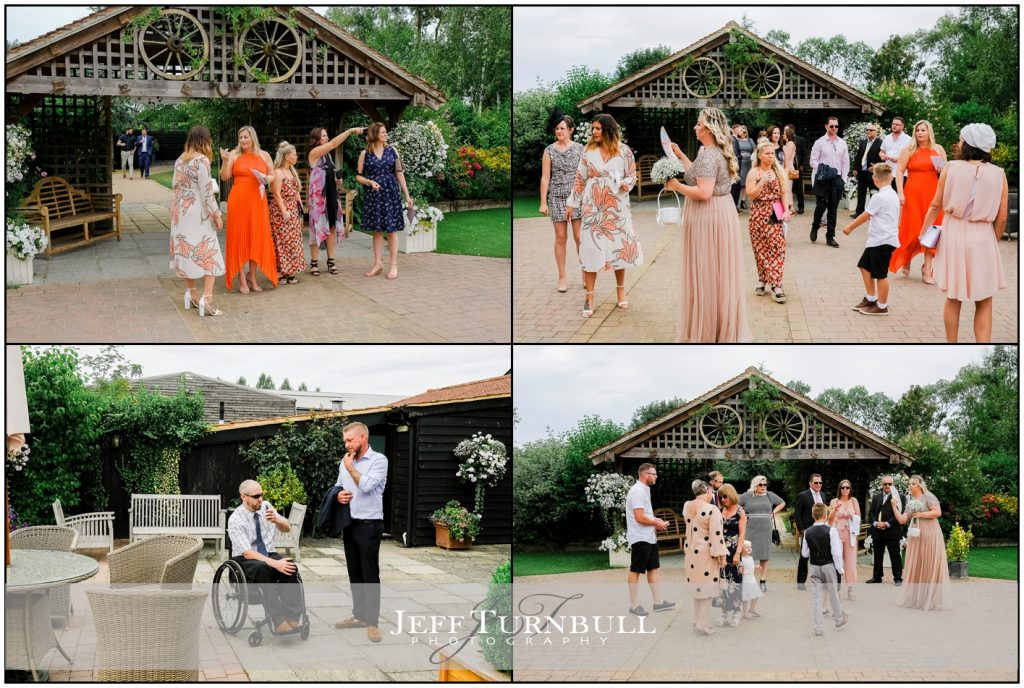 Wedding Guests Maidens Barn