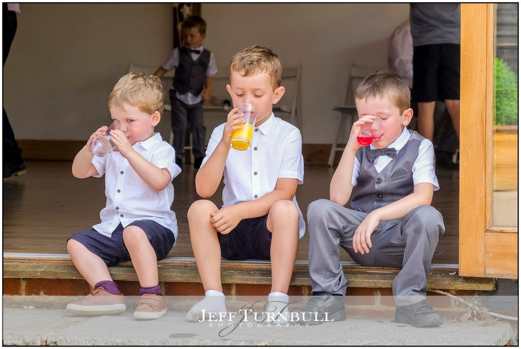 Boys Drinking Squash