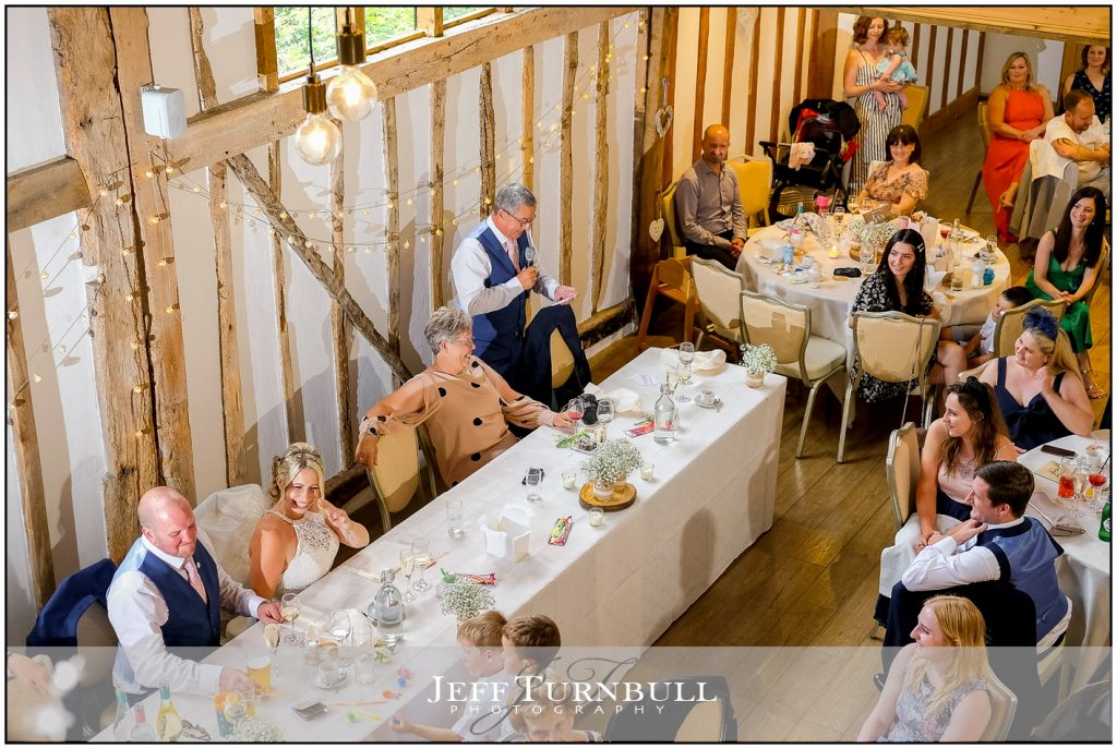 Wedding Breakfast Maidens Barn
