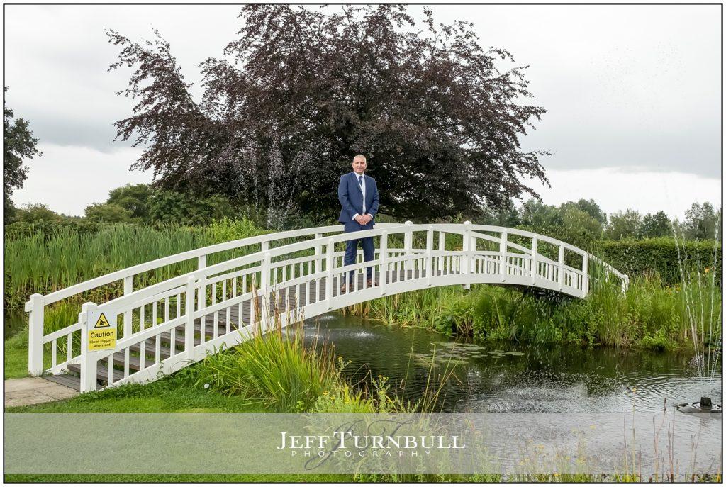 Groom on the Bridge
