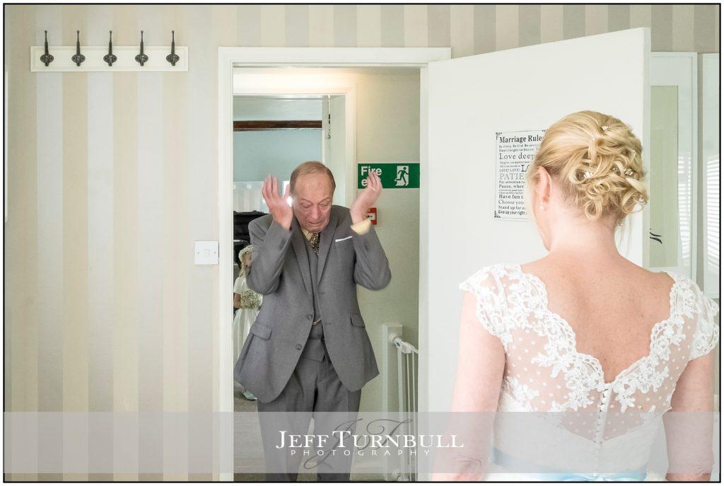 Emotional Dad and Bride