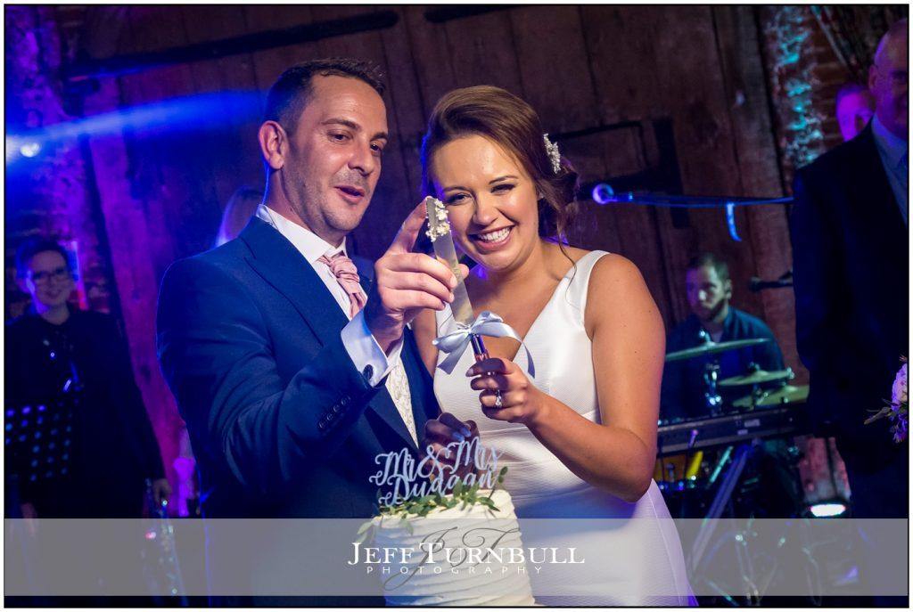 wedding cake Cutting Leez Priory