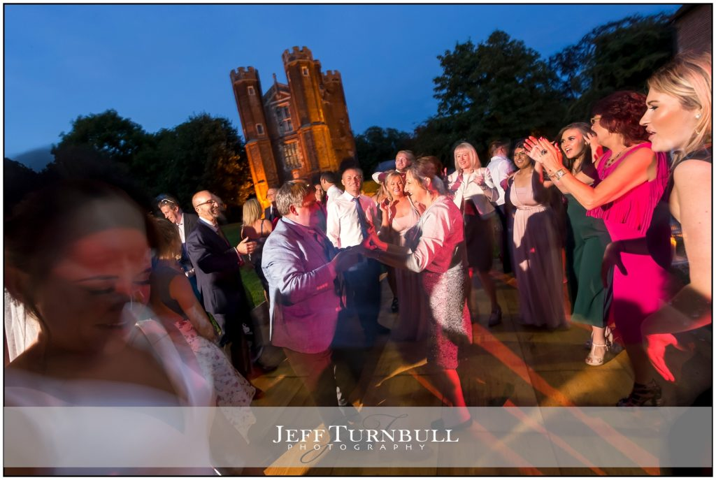Wedding Party at Night Leez priory