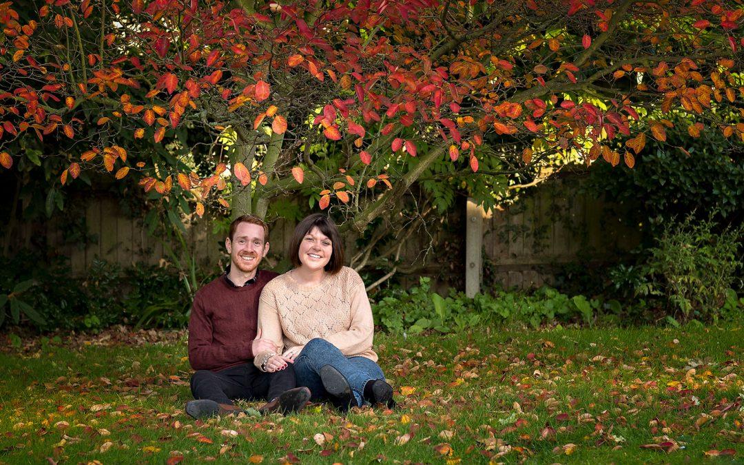 Autumn Engagement Photography | Braintree & Bocking Gardens