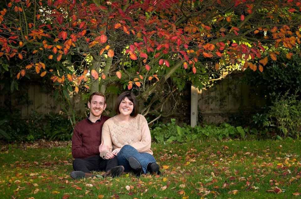 Autumn Engagement Photography | Braintree & Bocking Gardens