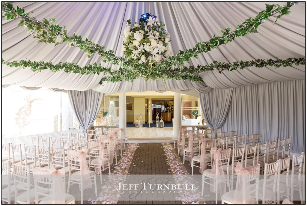 The ceremony room at Friern Manor