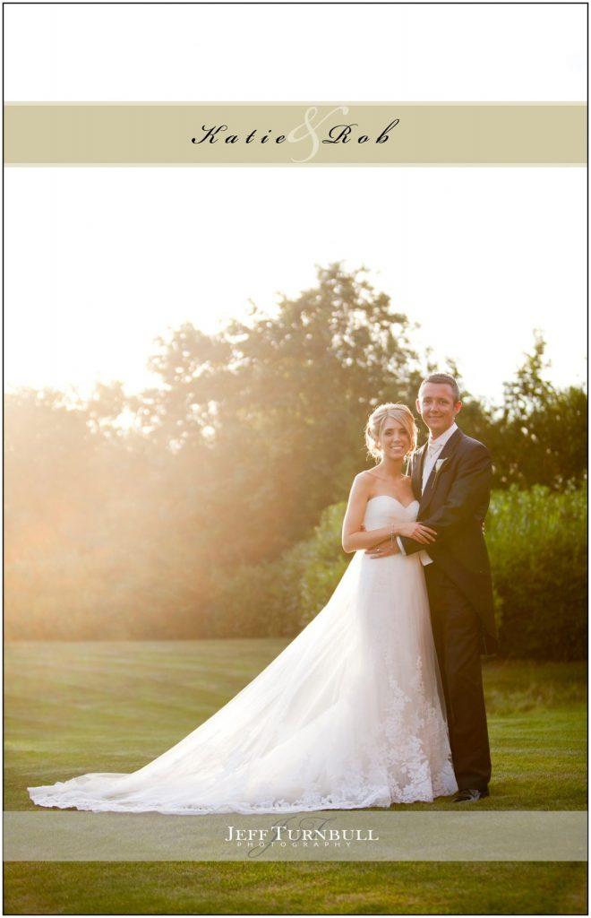 Full length Bride and Groom