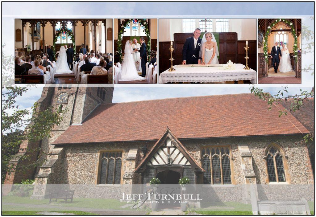 Wedding Ceremony All Saints Church in Springfield