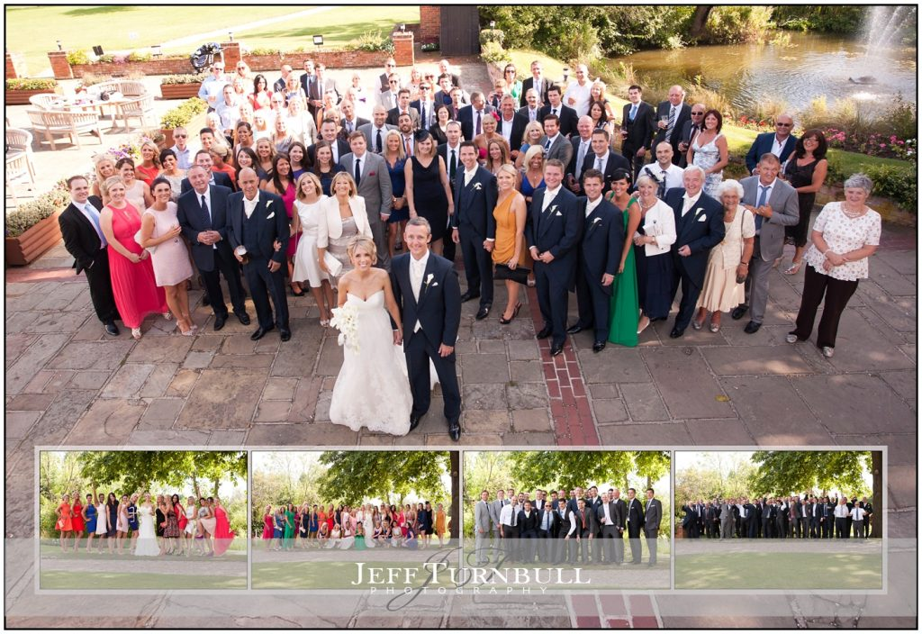 All the Guests Channels Wedding