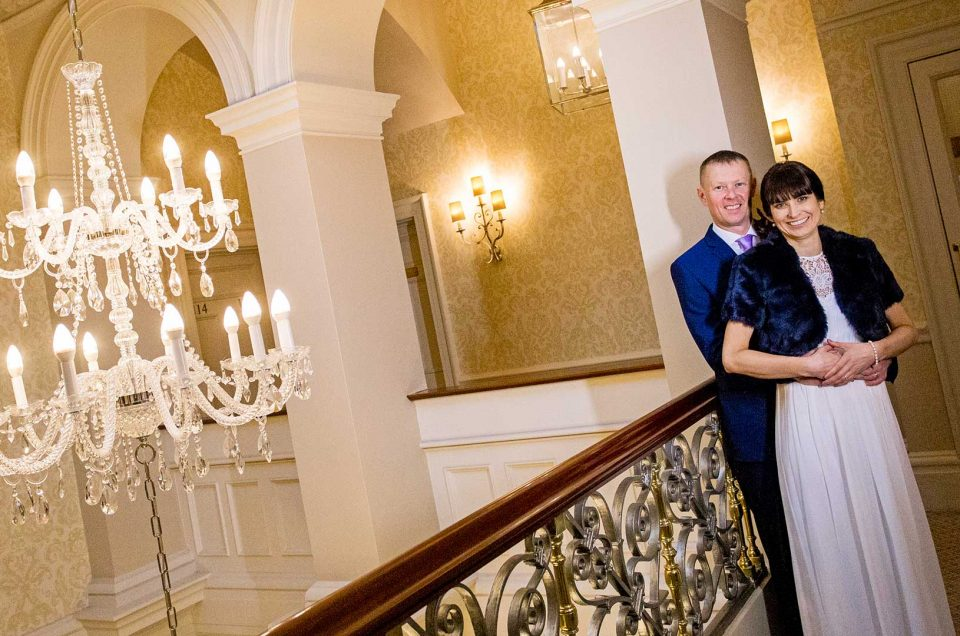 Down Hall Hotel Winter Wedding Photography | Danielle and Michael