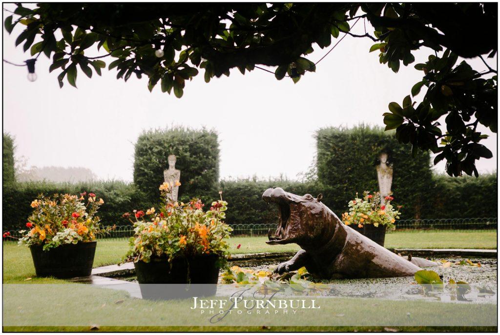 Front Garden Port Lympne Hotel