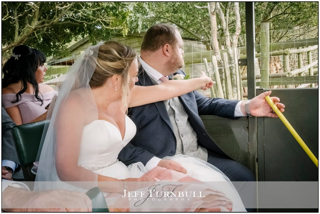 Bride and Groom Lympne Hotel & Nature Reserve
