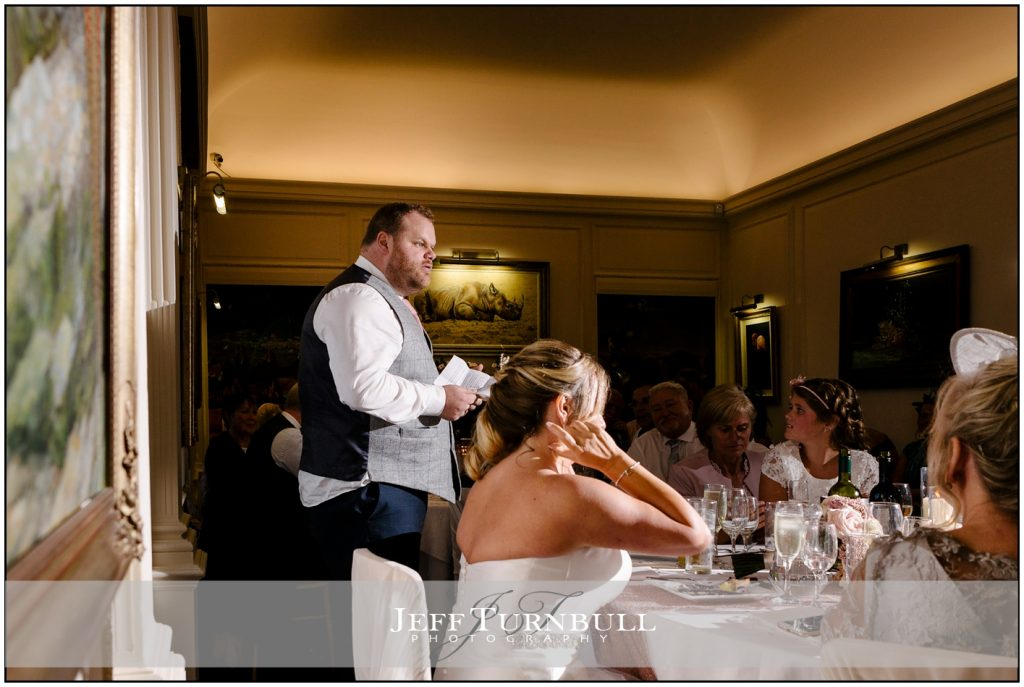 Speeches at Port Lympne Hotel