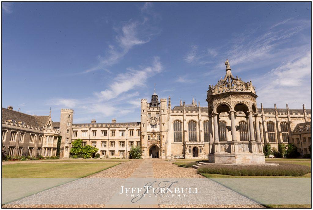 Trinity College Cambridge Architecture