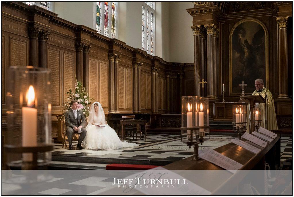 Trinity College Wedding Ceremony