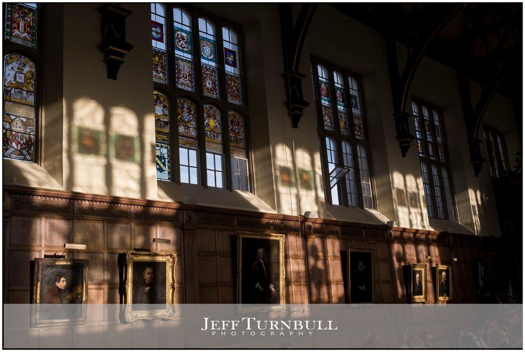 Inside Trinity College Cambridge