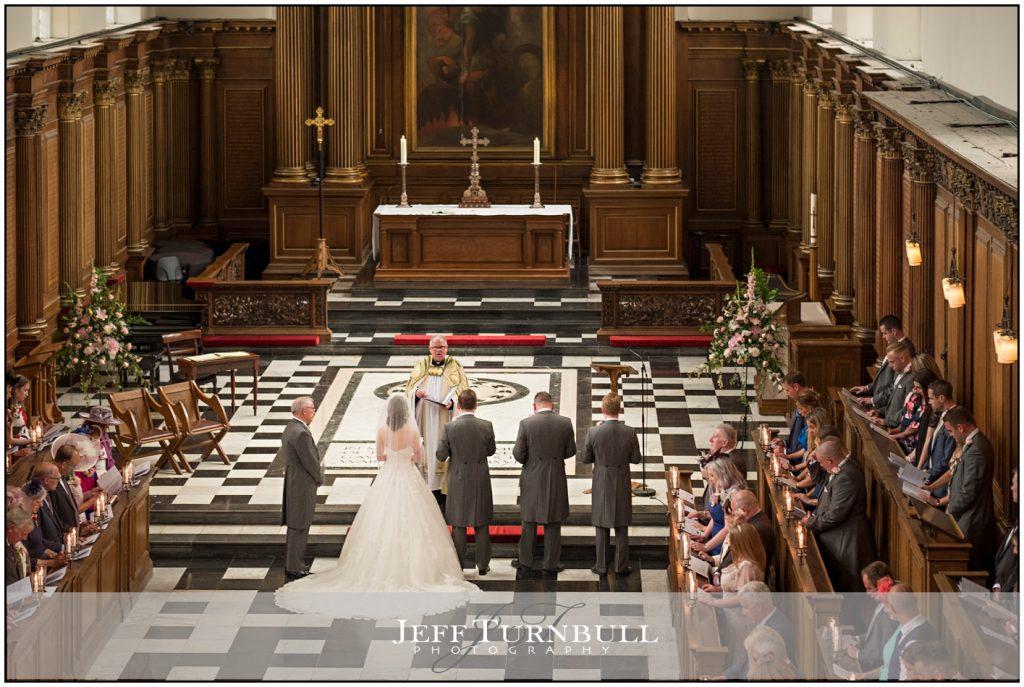 Wedding at Trinity College