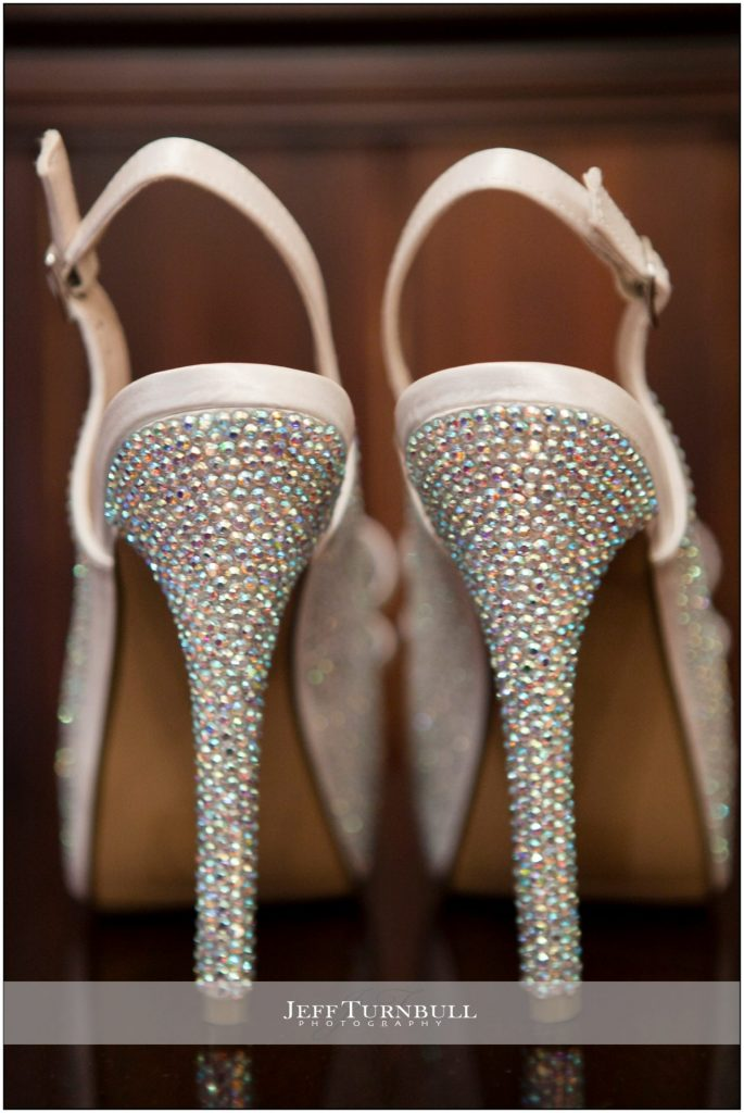 Bride Shoes with Bling