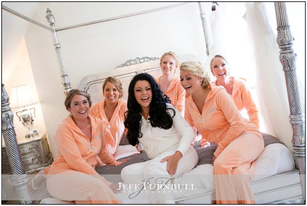 Louise Hill and Bridesmaids