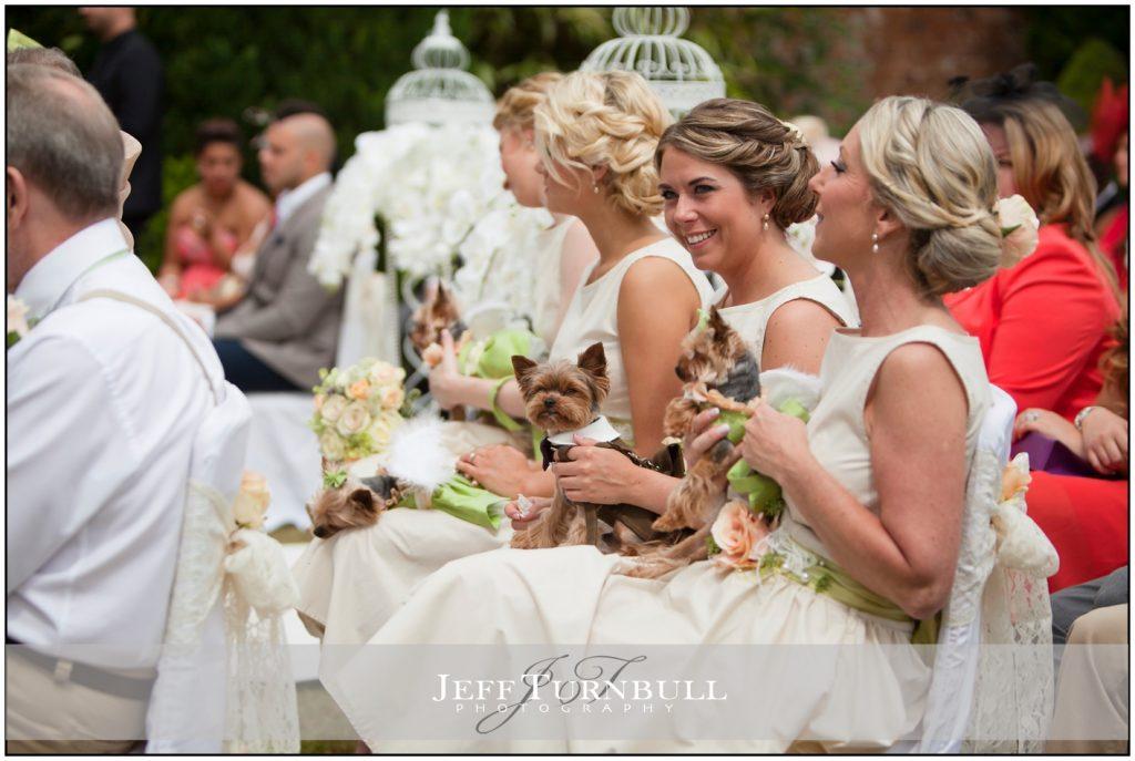 Bridesmaids at Woodhall Manor