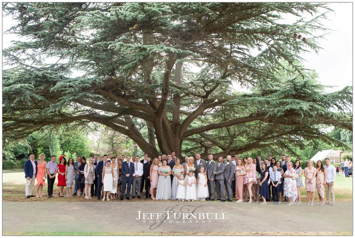 Wedding Group Photo Langtons House