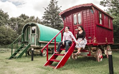 South Farm Engagement Photography | Hon and Mark