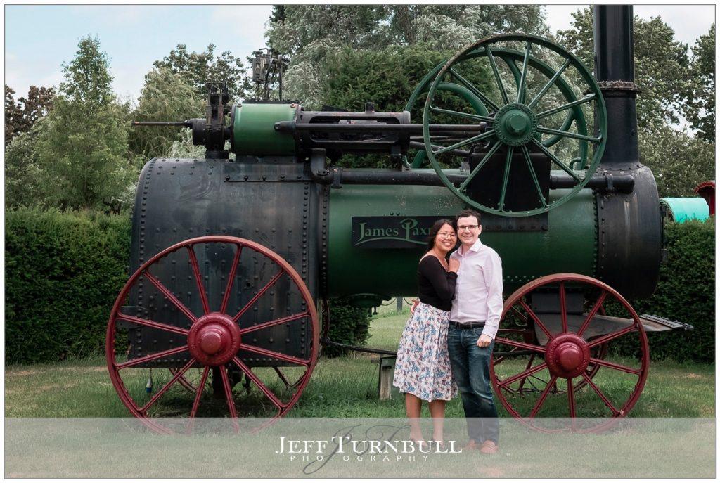 Steam Train at Sough Farm