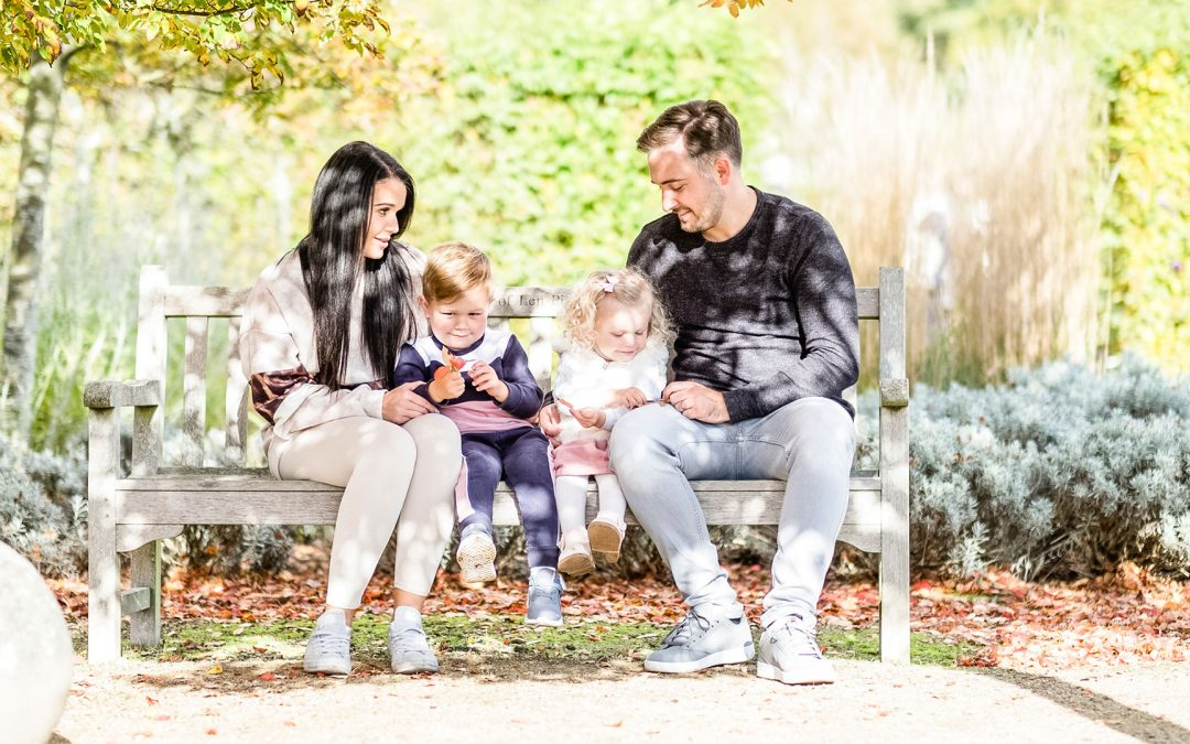 Autumn Family Portrait Photography Essex   Marks Hall Estate