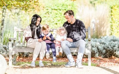 Autumn Family Portrait Photography Essex | Marks Hall Estate