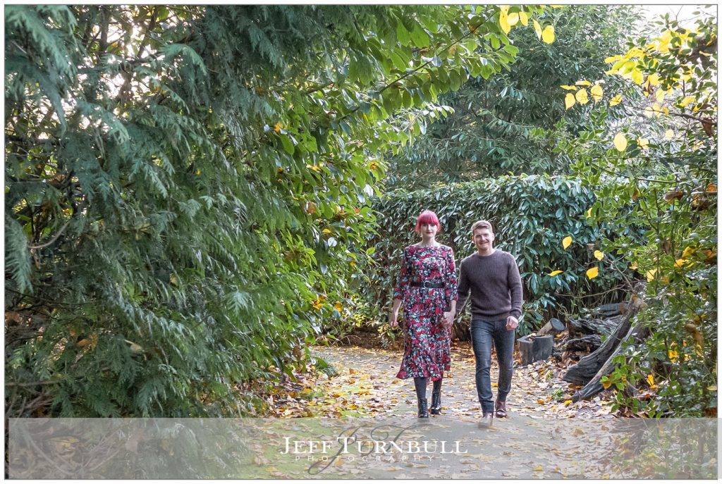 Braintree and Bocking Public Gardens Engagement Shoot