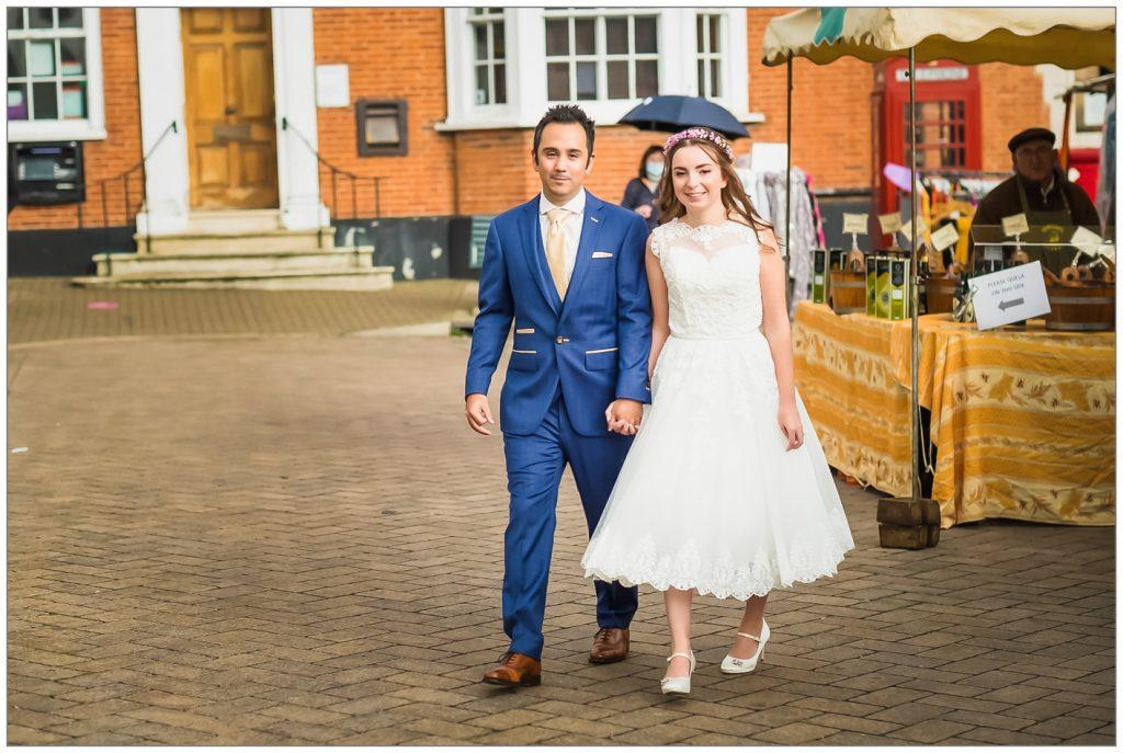 Saffron Walden Market Wedding Photography