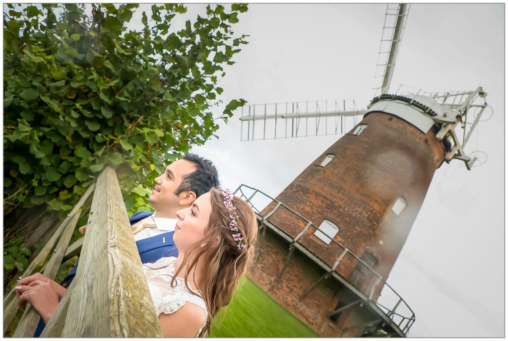 Thaxted Windmill Wedding Photography