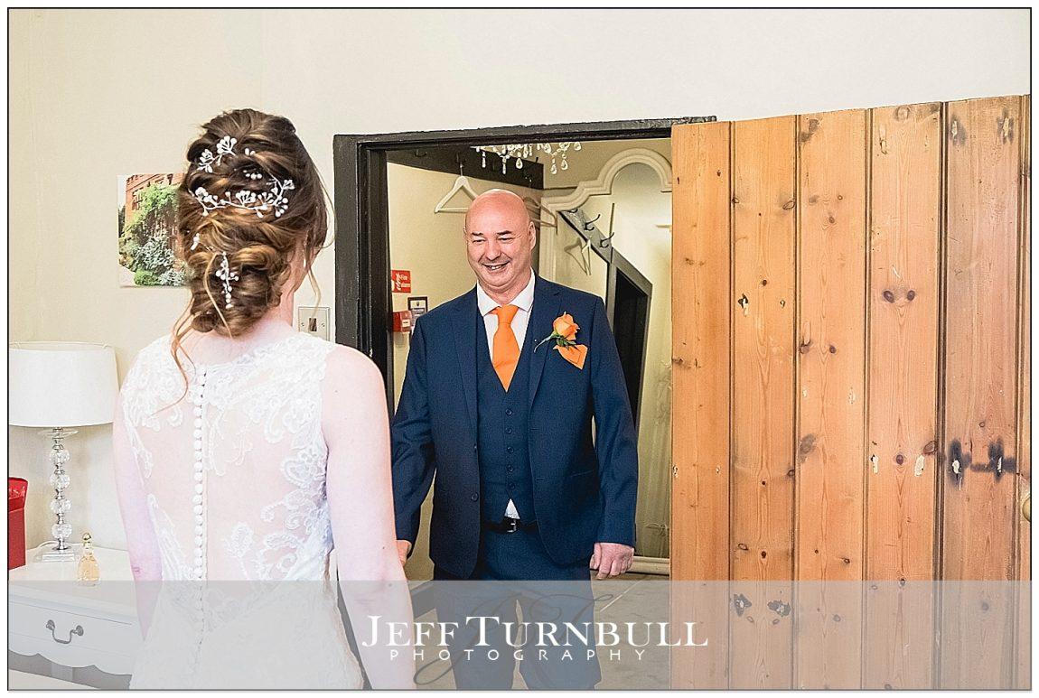 Dad seeing the Bride