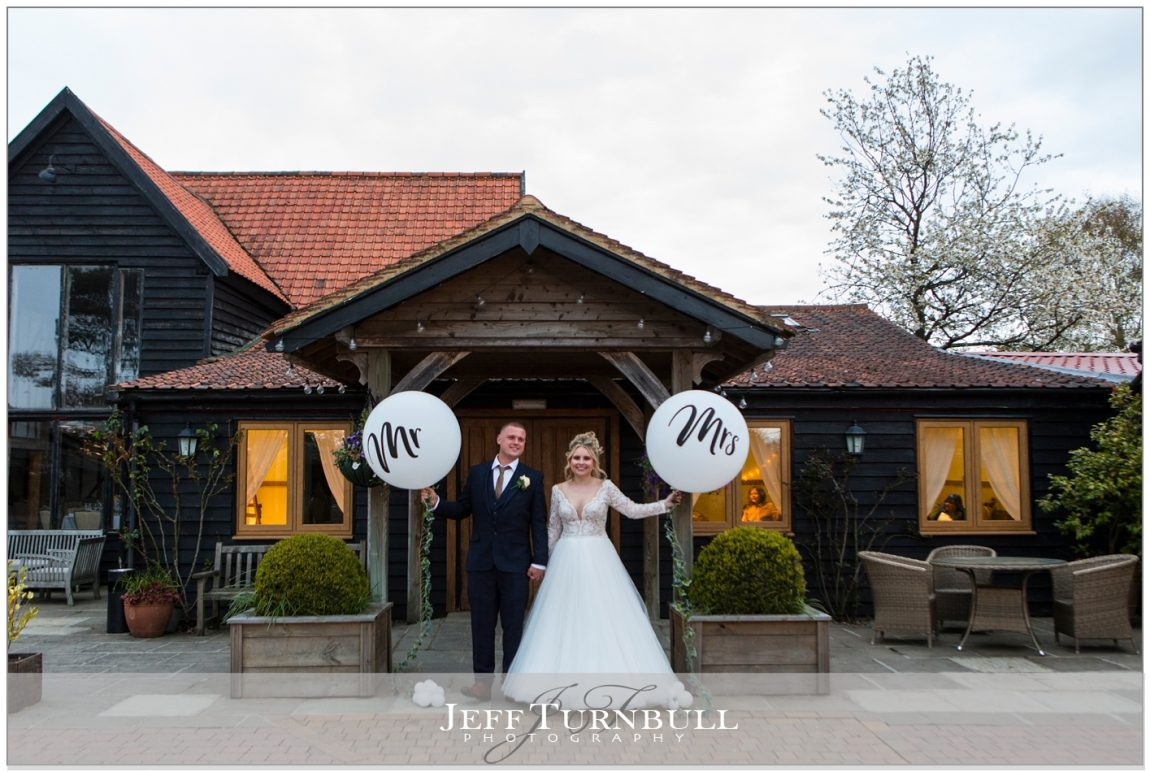 Large Mr and Mrs Balloons for Weddings