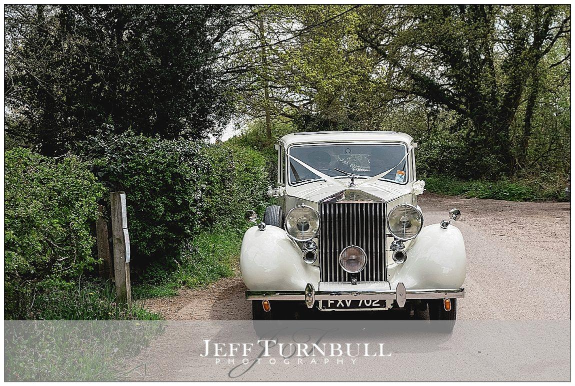 1940s Wedding Rolls Royce