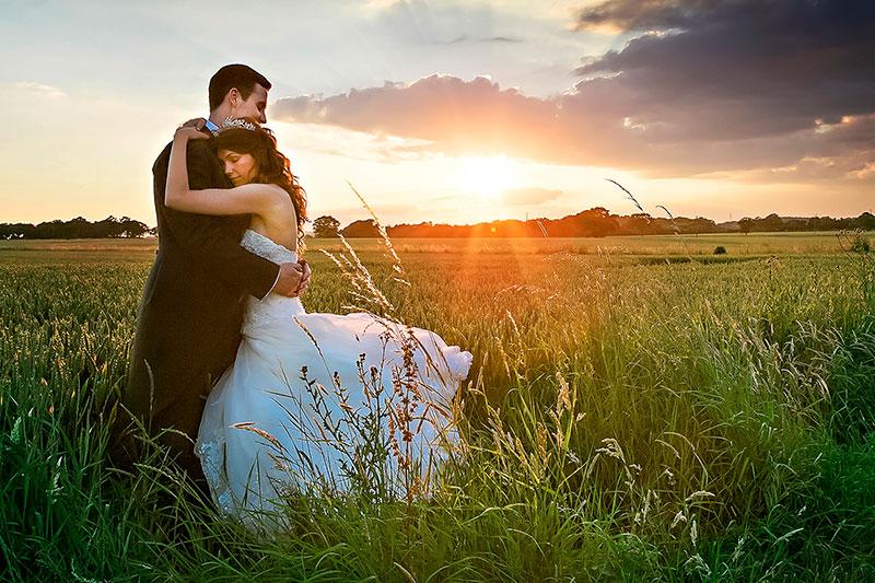 Evening Wedding Photography Suffolk