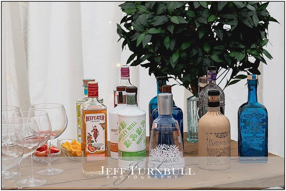 Wedding Gin Bar