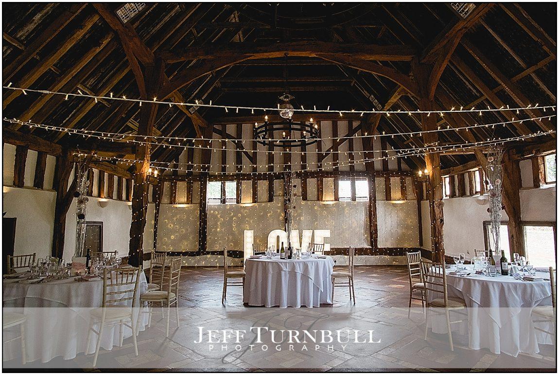 Inside Smeetham Hall Barn