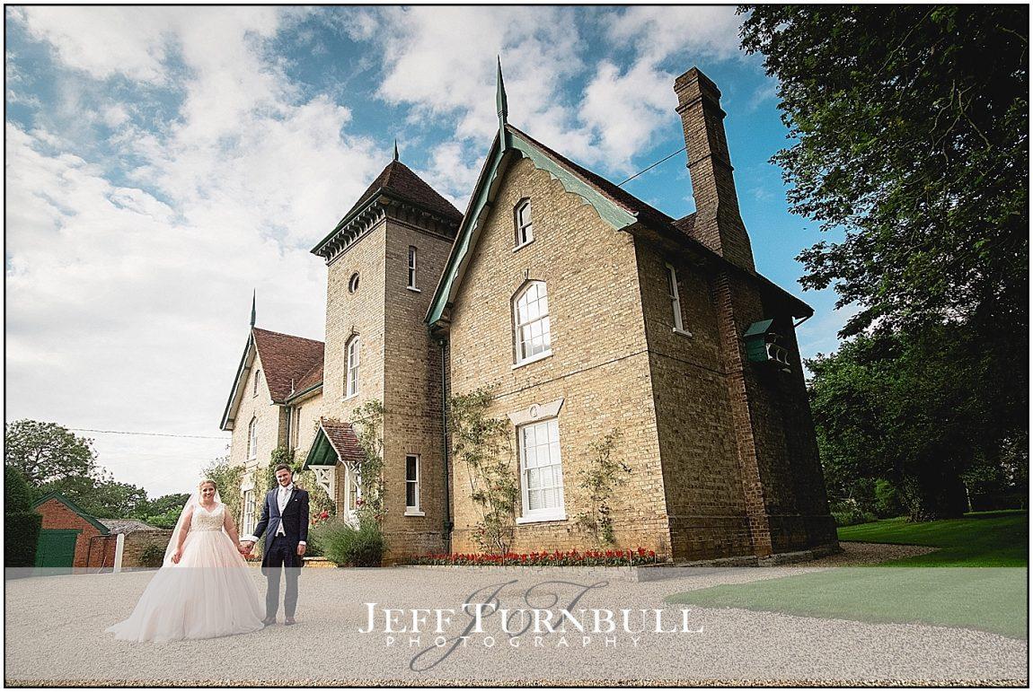Bride and Groom the House Smeetham Hall Barn