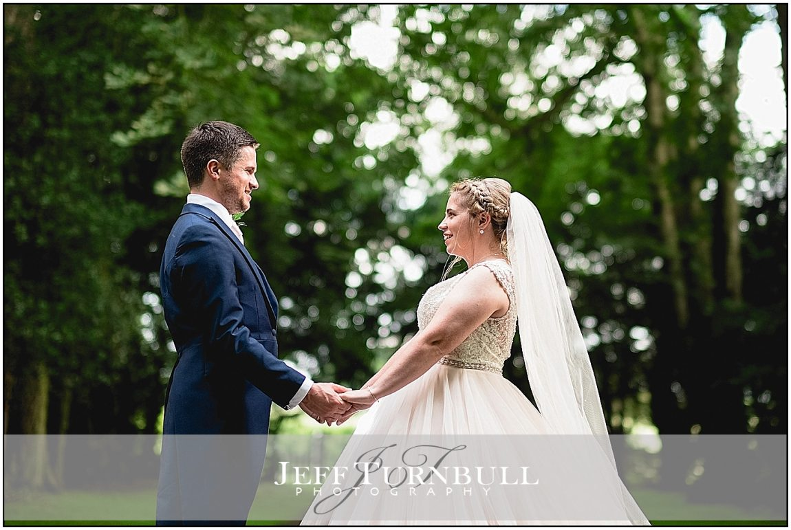 Bride and `groom in the Forest