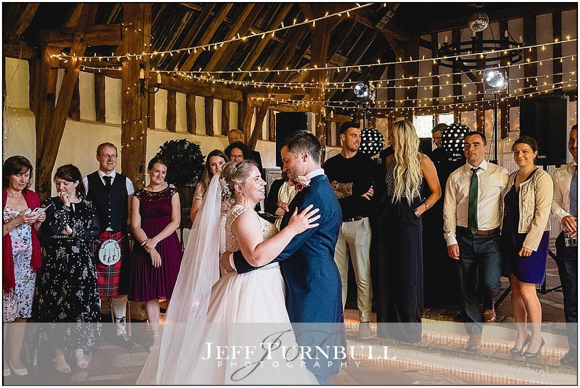 First Dance inside the Barn