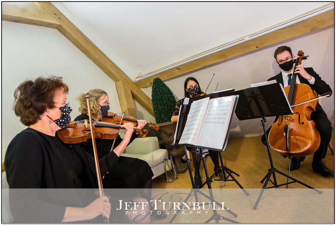 String quartet wedding ceremony