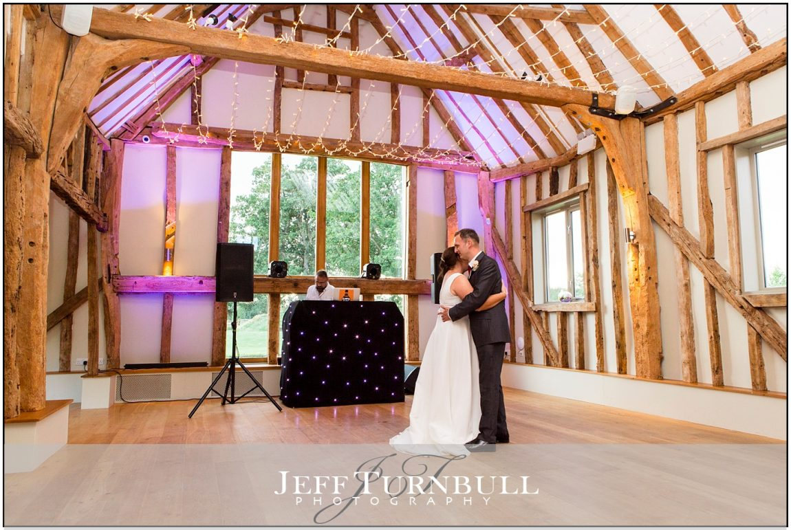 First Dance in the Barn at Easton Grange